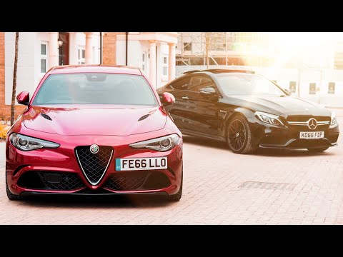 Race FAIL In The Alfa Romeo Giulia Quadrifoglio!!
