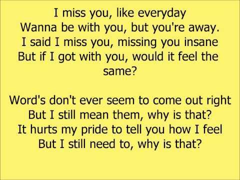 Beyonce- I Miss You lyrics