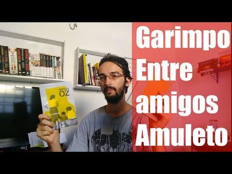 Resenha - Entre amigos - Amuleto - Garimpo clube do livro