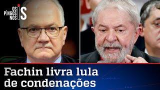 Fachin anula condenações de Lula e petista volta a ser ficha limpa