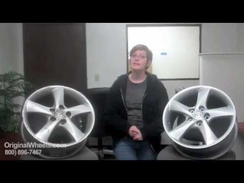 Protege Rims & Protege Wheels - Video of Mazda Factory, Original, OEM, stock new & used rim Co.