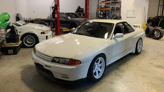 MY R32 GTR ENGINE IS CRACKED!!!