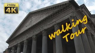 preview picture of video 'Rome Walking Tour - Italy 4K Travel Channel'