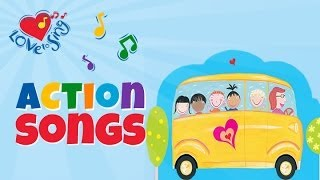 The Wheels on the Bus | Popular Kids Nursery Rhymes | Children Love to Sing