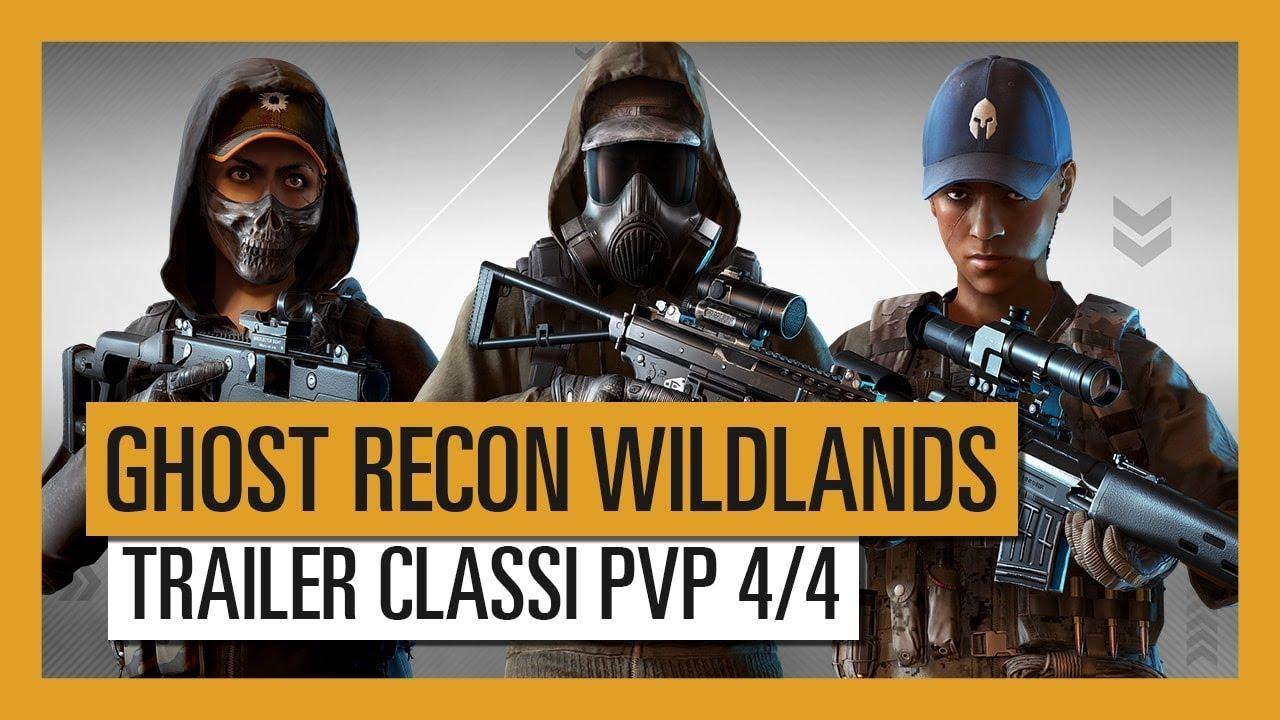 Ghost Recon Wildlands: Trailer della modalità PvP 4 vs 4