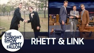 Rhett & Link Include Jimmy in a Special Three-Way Friendship Pose - Video Youtube