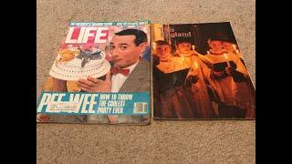 Unintentional ASMR: I Show You 1988 Life Magazine And 1989 This England Magazine
