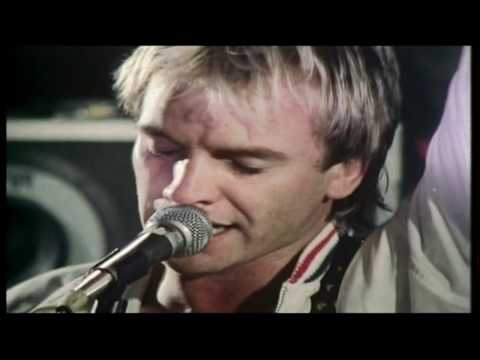 The Police - Born In The 50's (live in Hong Kong '80)