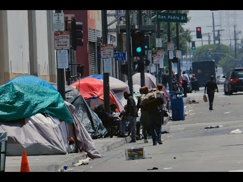 Homeless People Given Hotel Rooms In LA