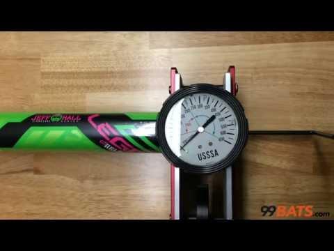 Worth Jeff Hall Legit 220 Reload USSSA Slowpitch Softball Bat - Compression Test