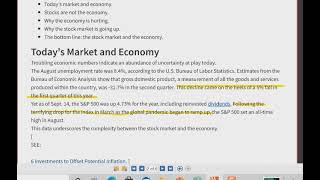 Market vs Economy (Re-Edit)