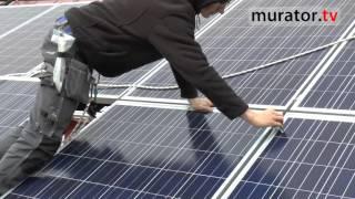 Panele fotowoltaiczne na domu pana Bogdana - zarabiać na sprzedaży prądu
