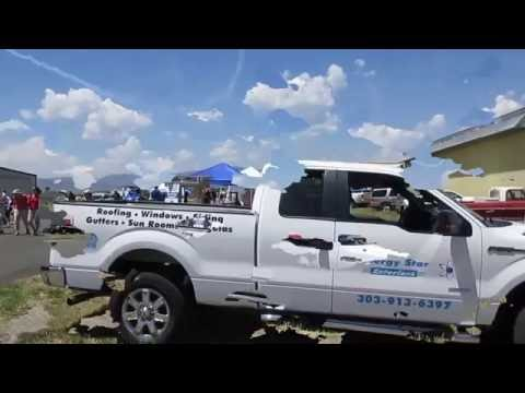 Longmont Colorado Air Show Sponsored By Energy Star Exteriors in Westminster in June 2016.