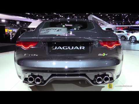 2015 Jaguar F-Type AWD R - Exterior and Interior Walkaround - Debut at 2014 LA Auto Show
