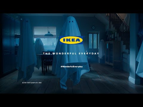 "Ikea Commercial - Ghosts - TV Advert 60"" #WonderfulEveryday"