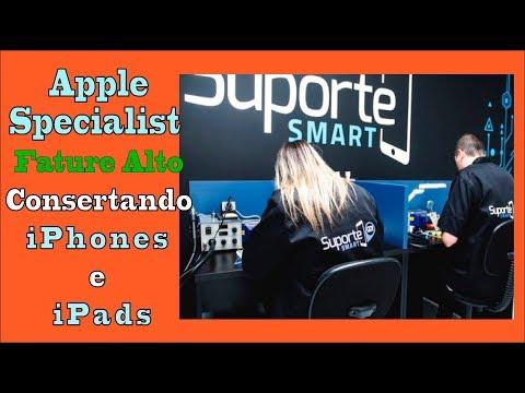 Apple Specialist ➜ Fature Alto Consertando iPhones e iPads
