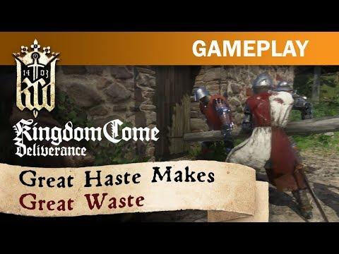 Kingdom Come: Deliverance - Great Haste Makes Great Waste de Kingdom Come : Deliverance