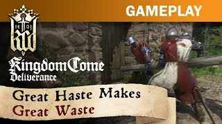 Kingdom Come: Deliverance | Stealth & Combat Gameplay Trailer