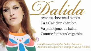 Dalida - Bambino - Paroles (Lyrics)