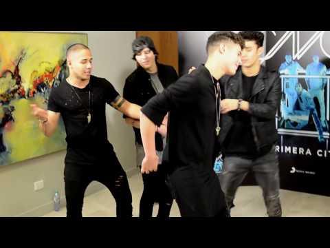 Cnco video El baile de Zabdiel - Argentina 2017