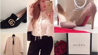 Покупки* Одежда & Туфли * 2016 / Gucci / Pinko / Helmut Lang/Louboutin ...