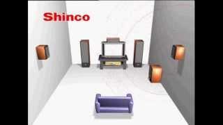 Проверка Акустики ( 5.1 ) TEST SHINCO 5.1