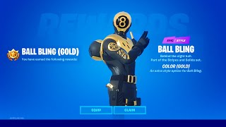How to UNLOCK the NEW Gold 8 Ball vs Scratch Skin - Fortnite overtime challenges