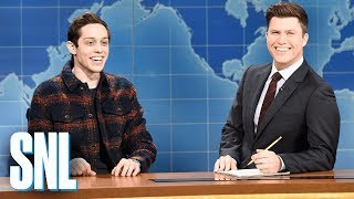 Weekend Update: Pete Davidson on Filming a Commercial - SNL