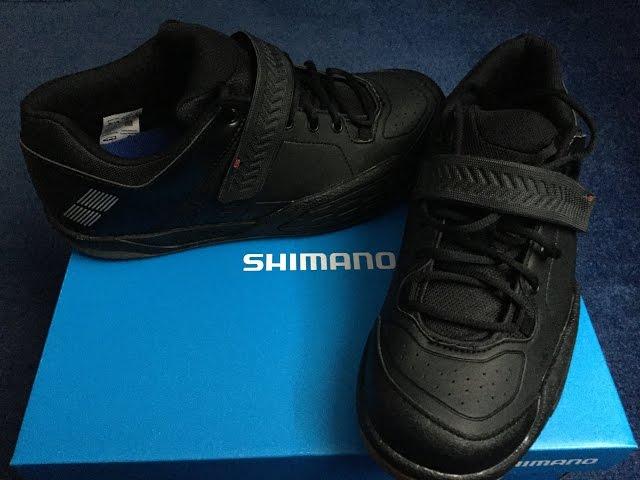 Видео Велотуфли Shimano SH-AM501ML черные