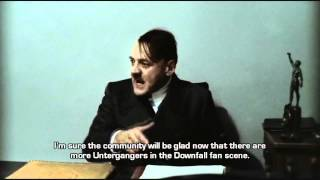 Hitler promotes an Unterganger: AGParodies