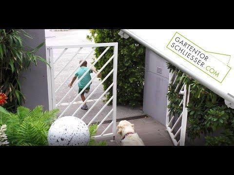 Der Gartentorschließer - Sicherheit für Deine Familie und Deine Haustiere