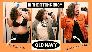 INSIDE THE FITTING ROOM | Old Navy | so many perfect fall finds!
