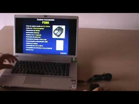 BioTronic - Capturador de huellas digitales FS80 para Windows, Linux y MacOS