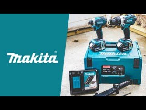 Makita DLX2145TJ 18V LXT Combi Drill & Impact Driver Twin Kit
