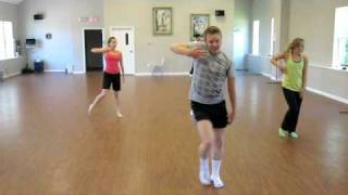 Isaac Hunnicutt's amazing Choreo to Blessing by Scott Alan (and me effing it up)
