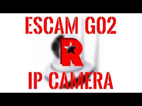 [ReviewRax Review] ESCAM G02 IP Camera (Banggood.com)