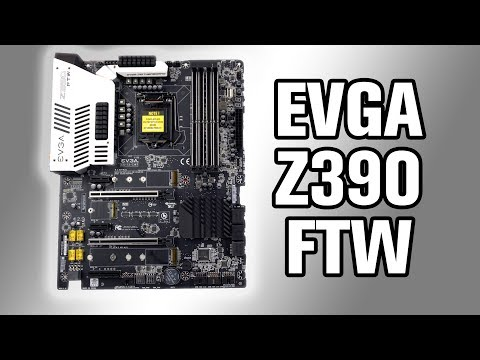EVGA Z390 FTW Motherboard Review
