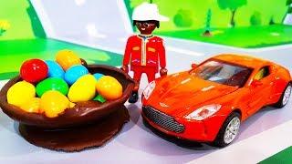 Мультики про машинки. Приключения Петровича – Шоколадные игрушки и конфеты. Мультфильмы для детей