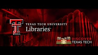 Discover Texas Tech: Libraries
