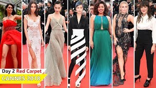 Cannes Film Festival 2018 [DAY 2] Red Carpet | Full Video | Celebrity Dresses