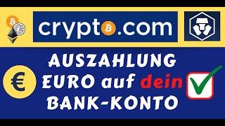 Wie lange dauert Geld von crypto.com