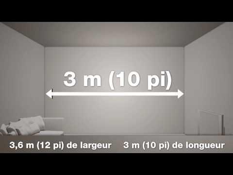 Peinture BEHR: Comment déterminer la quantité à acheter