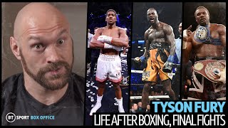 Tyson Fury says he misses Ben Davison, wanted Wilder at Old Trafford and promises Chisora trilogy