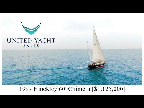 Hinckley Custom 60 video