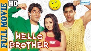 Hello Brother (1999) {HD} - Salman Khan - Rani Mukherjee - Johnny Lever - Superhit Comedy Movie