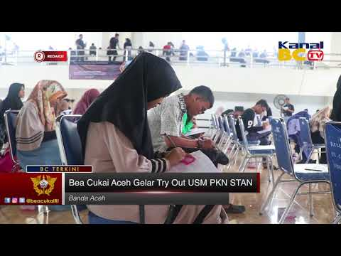 [Redaksi] Bea Cukai Aceh Gelar Try out USM PKN STAN