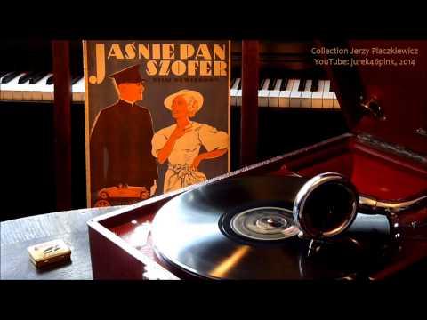 """""""Mój świat się zaczął dziś !"""" - Adam Aston, 1935."""