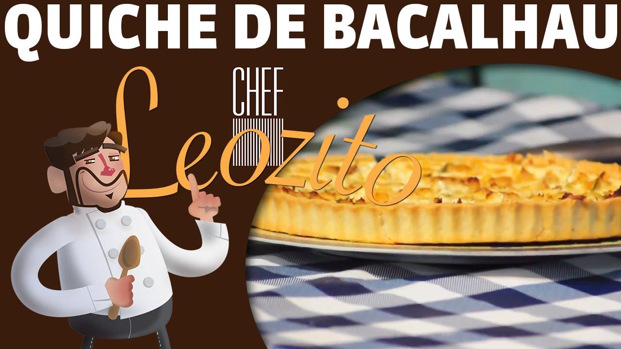 Quiche de Bacalhau – Chef Leozito e Cia Especial Páscoa #5