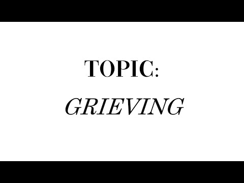 Let's talk grief – an interview of me by Sandra's Home