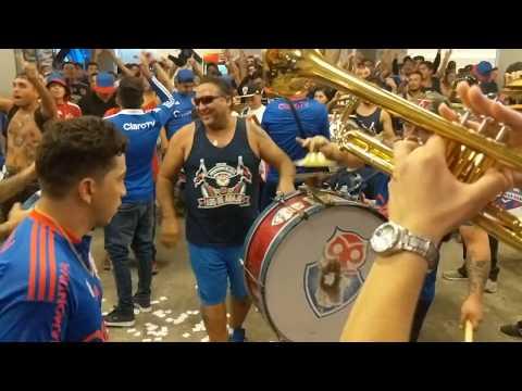 """""""No me arrepiento - U de Chile vs cruzeiro - 3ra fecha libertadores 2018"""" Barra: Los de Abajo • Club: Universidad de Chile - La U • País: Chile"""